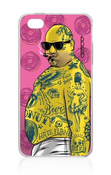 Cover Apple iPhone 4/4S - Fat Man Love Donuts