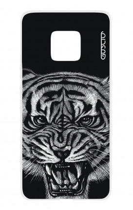 Cover TPU HUAWEI Mate 20 PRO - Tigre nera