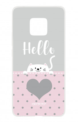 Cover HUAWEI Mate 20 PRO - Hello Cat