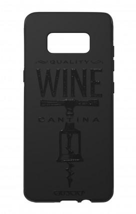 Cover Skin Feeling Samsung S8 BLACK - Wine Cantina