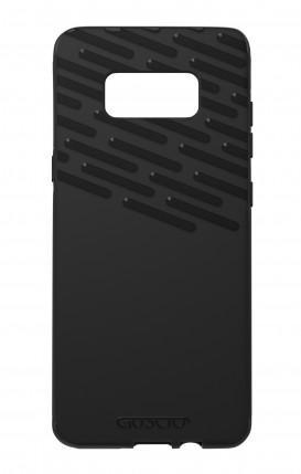 Cover Skin Feeling Samsung S8 BLACK - Tratteggi