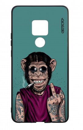 Huawei Mate20 WHT Two-Component Cover - Monkey's always Happy