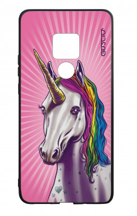 Huawei Mate20 WHT Two-Component Cover - Magic Unicorn