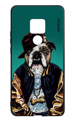 Huawei Mate20 WHT Two-Component Cover - English Bulldog