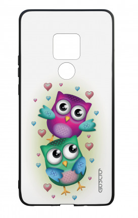 Huawei Mate20 WHT Two-Component Cover - New Double Owl