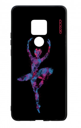 Huawei Mate20 WHT Two-Component Cover - Ballet in Black