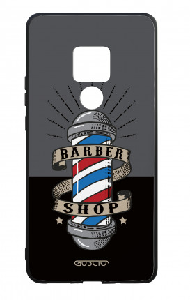 Huawei Mate20 WHT Two-Component Cover - Barber Shop Banner