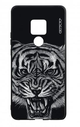 Cover Bicomponente Huawei Mate 20 - Tigre nera