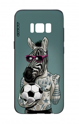 Cover Bicomponente Samsung S8 - Zebra