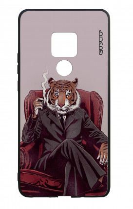 Huawei Mate20 WHT Two-Component Cover - Elegant Tiger