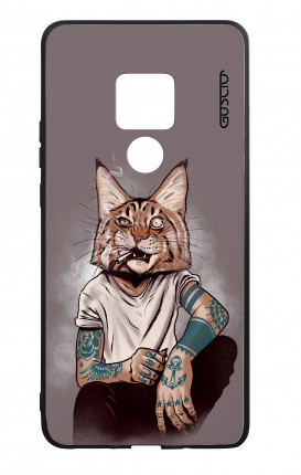 Cover Bicomponente Huawei Mate 20 - Lince Tattoo