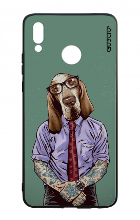 Cover Bicomponente Huawei P Smart PLUS - Bracco italiano tatuato