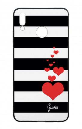 Cover Bicomponente Huawei P Smart PLUS - Loving Stripes