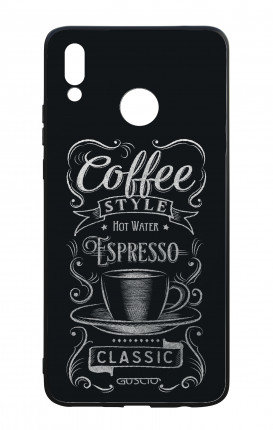 Cover Bicomponente Huawei P Smart PLUS - Coffee Style