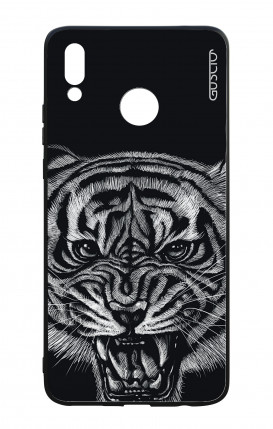 Huawei P Smart Plus WHT Two-Component Cover - Black Tiger