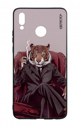 Huawei P Smart Plus WHT Two-Component Cover - Elegant Tiger