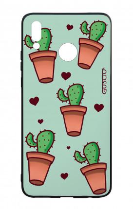 Cover Bicomponente Huawei P Smart PLUS - Cactus Pattern