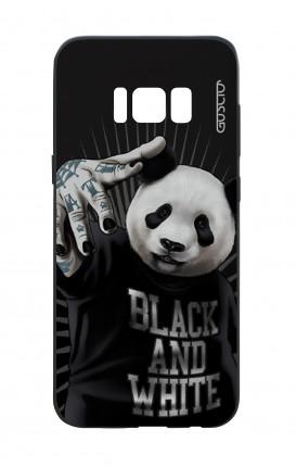 Cover Bicomponente Samsung S8 - Panda rap