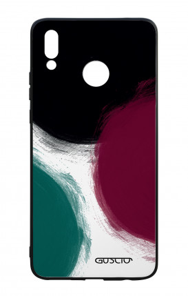 Huawei P Smart Plus WHT Two-Component Cover - Big Polka dot