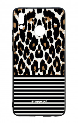 Huawei P Smart Plus WHT Two-Component Cover - Animalier & Stripes