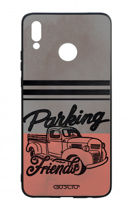 Huawei P Smart Plus WHT Two-Component Cover - Parking Friends