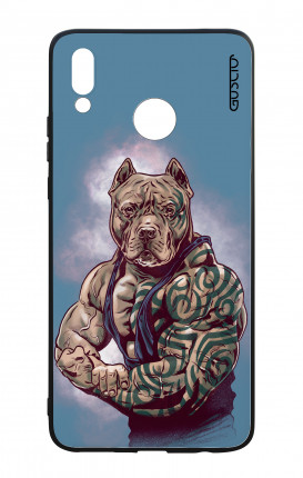 Cover Bicomponente Huawei P Smart PLUS - Pitbull Tattoo