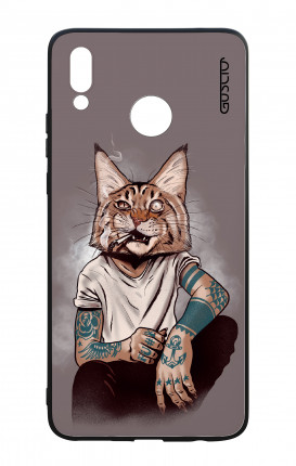Cover Bicomponente Huawei P Smart PLUS - Lince Tattoo