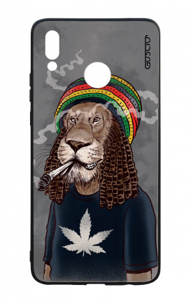Cover Bicomponente Huawei P Smart PLUS - Leone Rasta