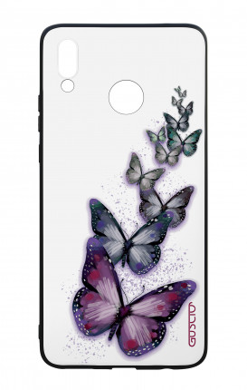 Huawei P Smart Plus WHT Two-Component Cover - Butterflies