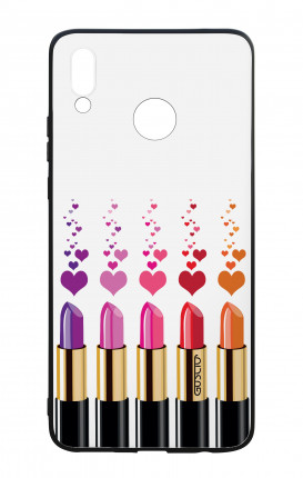 Huawei P Smart Plus WHT Two-Component Cover - Lipsticks