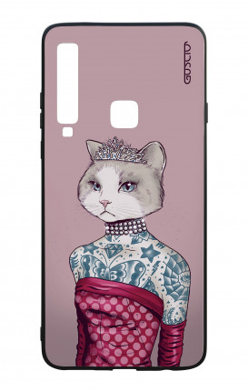 Samsung A9 2018 WHT Two-Component Cover - Kitty Princess