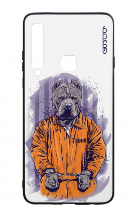 Samsung A9 2018 WHT Two-Component Cover - WHT Dog Jail