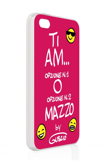 Cover Apple iPhone 4/4S - A..mo...A..mmazzo