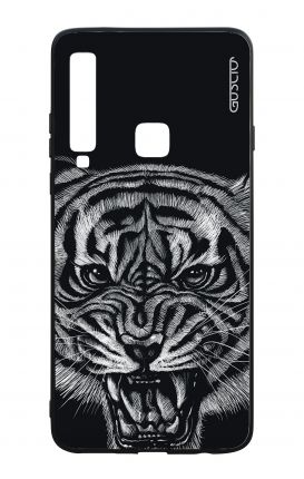 Samsung A9 2018 WHT Two-Component Cover - Black Tiger