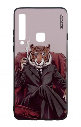 Cover Bicomponente Samsung A9 2018 - Tigre elegante