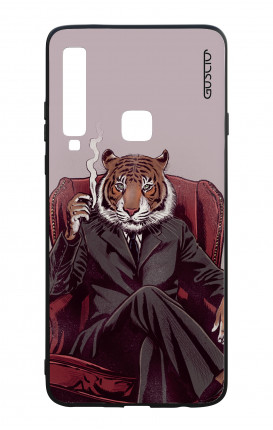 Samsung A9 2018 WHT Two-Component Cover - Elegant Tiger