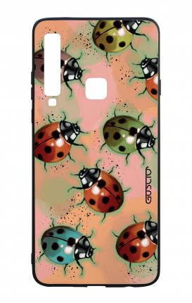 Samsung A9 2018 WHT Two-Component Cover - Lady bugs