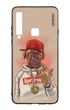 Samsung A9 2018 WHT Two-Component Cover - Rap Dog