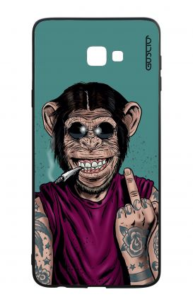 Samsung J4 Plus WHT Two-Component Cover - Monkey's always Happy