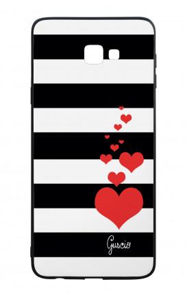 Cover Bicomponente Samsung J4 Plus - Loving Stripes