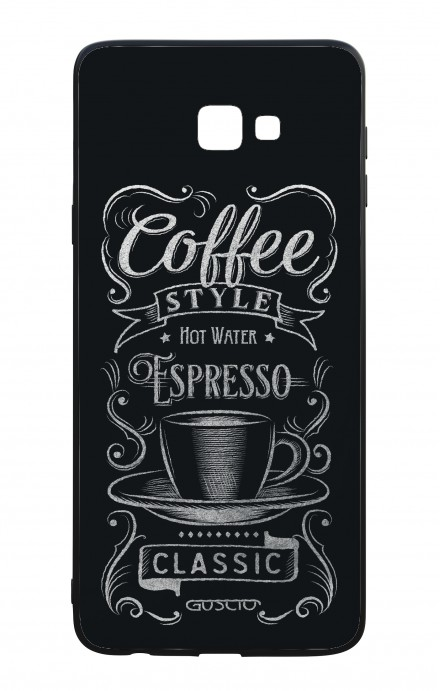 Cover Bicomponente Samsung J4 Plus - Coffee Style