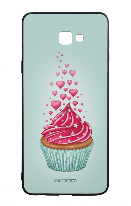 Samsung J4 Plus WHT Two-Component Cover - Cupcake in Love