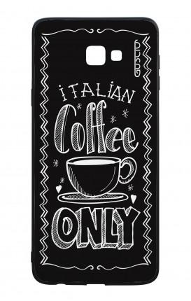 Cover Bicomponente Samsung J4 Plus - Solo caffè italiano