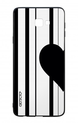Samsung J4 Plus WHT Two-Component Cover - Half Heart