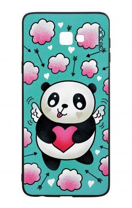 Cover Bicomponente Samsung J4 Plus - panda cupido