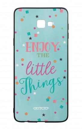 Cover Bicomponente Samsung J4 Plus - le piccole cose azzurra