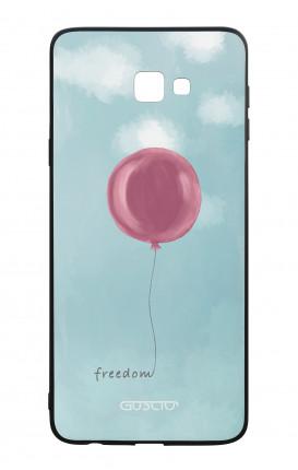 Cover Bicomponente Samsung J4 Plus - palloncino della libertà