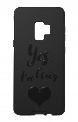 Cover Skin Feeling Samsung S9 BLACK - Yes. I'm Crazy