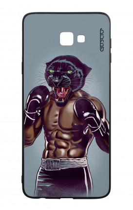 Samsung J4 Plus WHT Two-Component Cover - Boxing Panther
