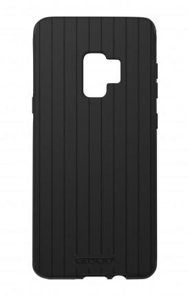 Cover Skin Feeling Samsung S9 BLACK - Righe